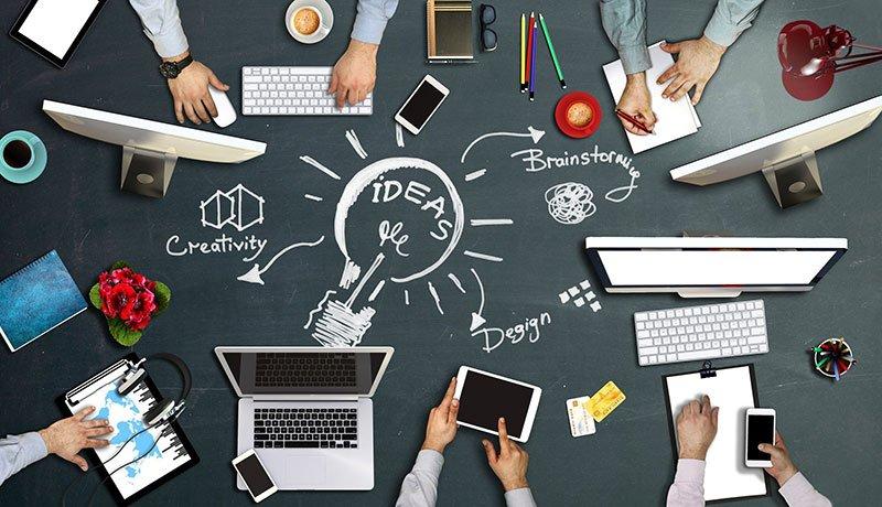Konzeption Webdesign App Kreativität