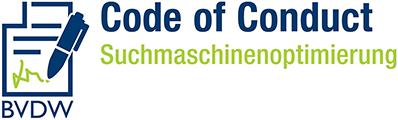 Unterzeichner Code of Conduct SEO