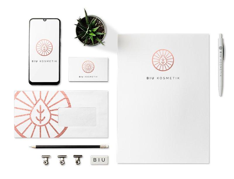Corporate Design BIU Kosmetik