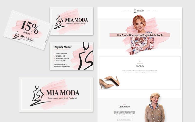Corporate Design Mia Moda