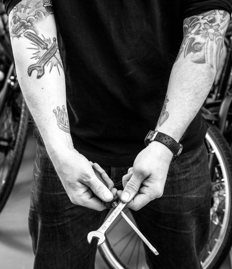 Cycle-M Website Foto Werkstatt