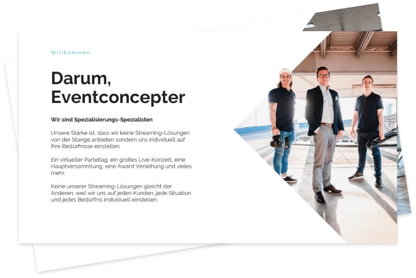 EventConcepter Präsentation