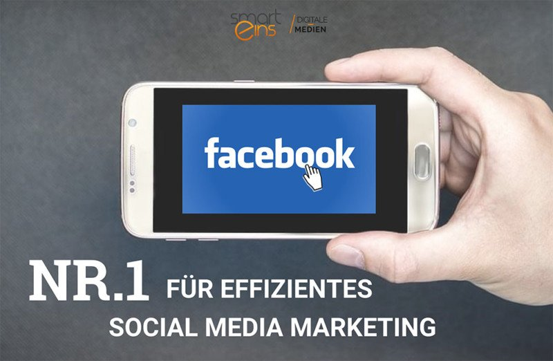 Facebook ist Nr 1 für Social Media Marketing