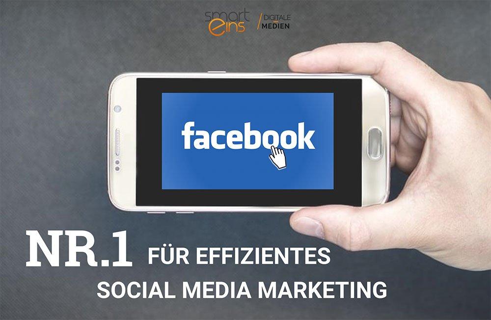 Facebook ist Nr 1 für Social Media Marketing