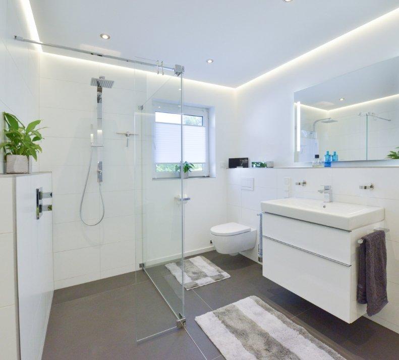 Badezimmer Glasdusche