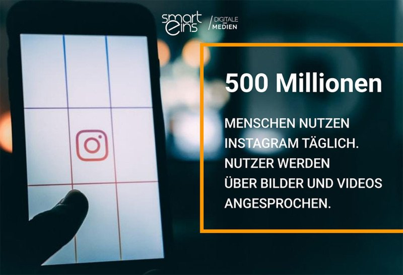 Instagram Social Media Marketing und Strategie