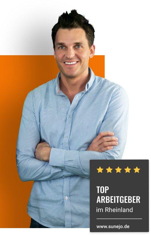 Jonas Wrobel - smarteins Top Arbeitgeber im Rheinland