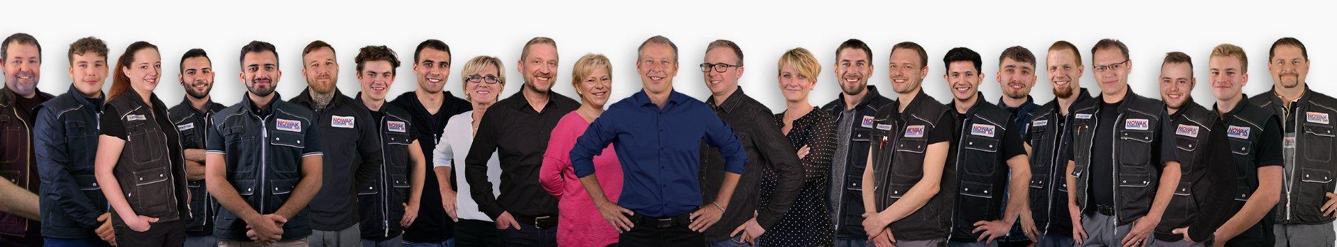 Mitarbeiter Team Nowak