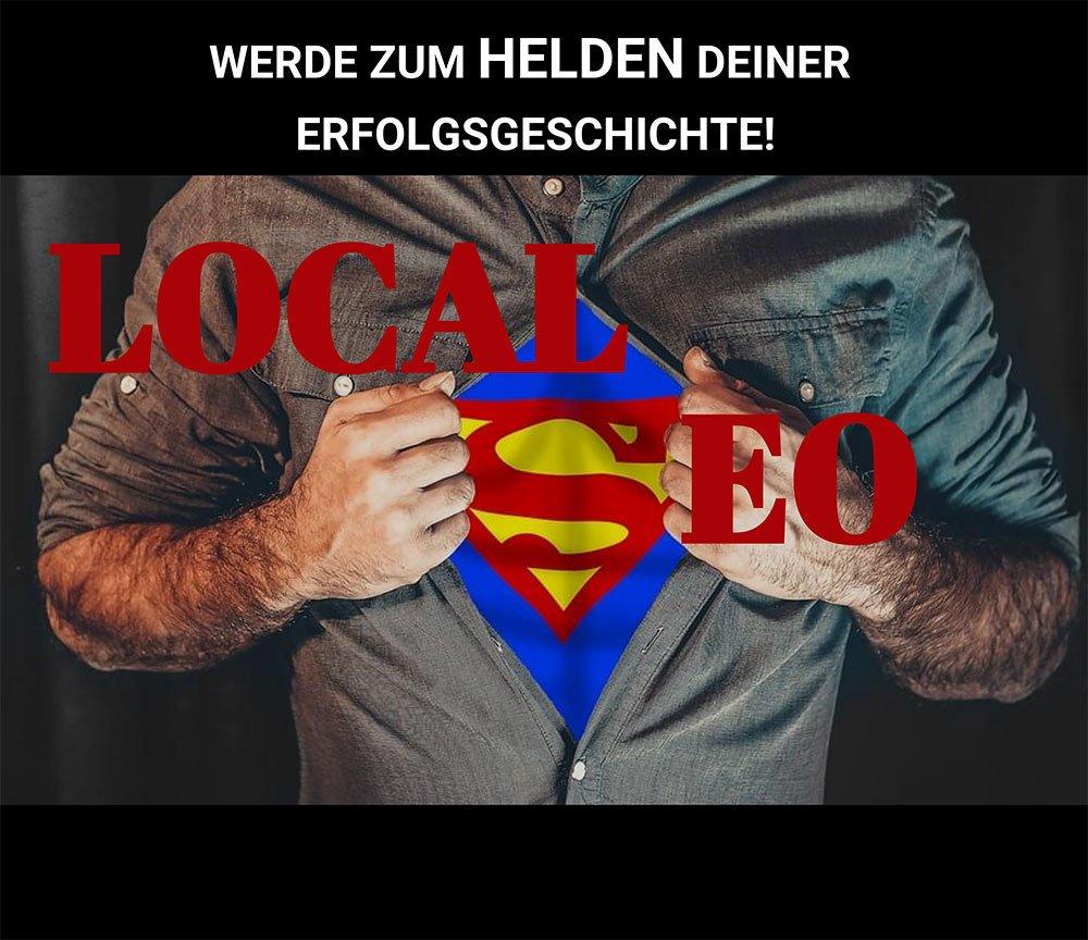 Regionale Suchmaschinenoptimierung - Werde zum Local SEO Superheld