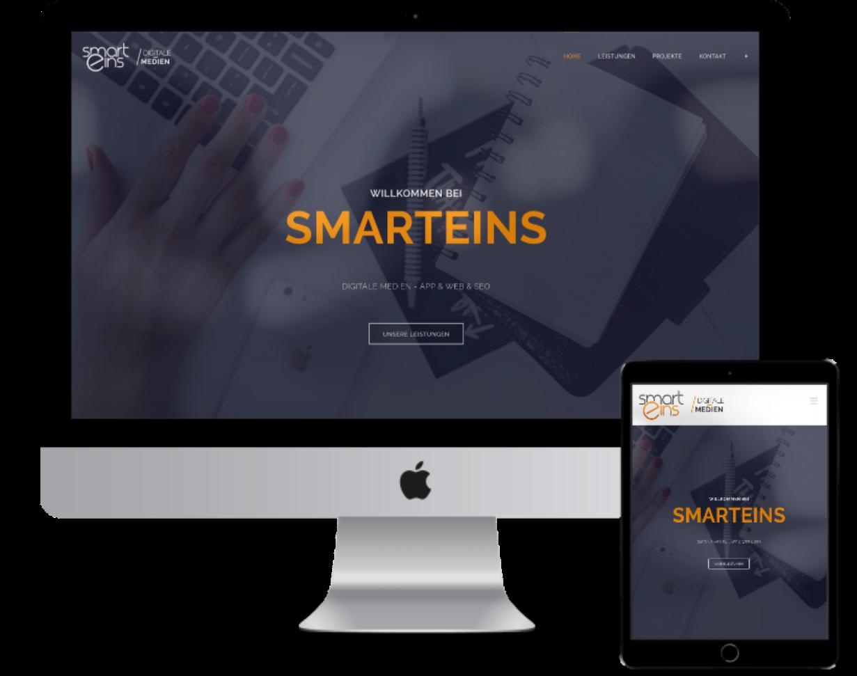 Smarteins Webdesign Suchmaschinenoptimierung Apps Bergisch Gladbach