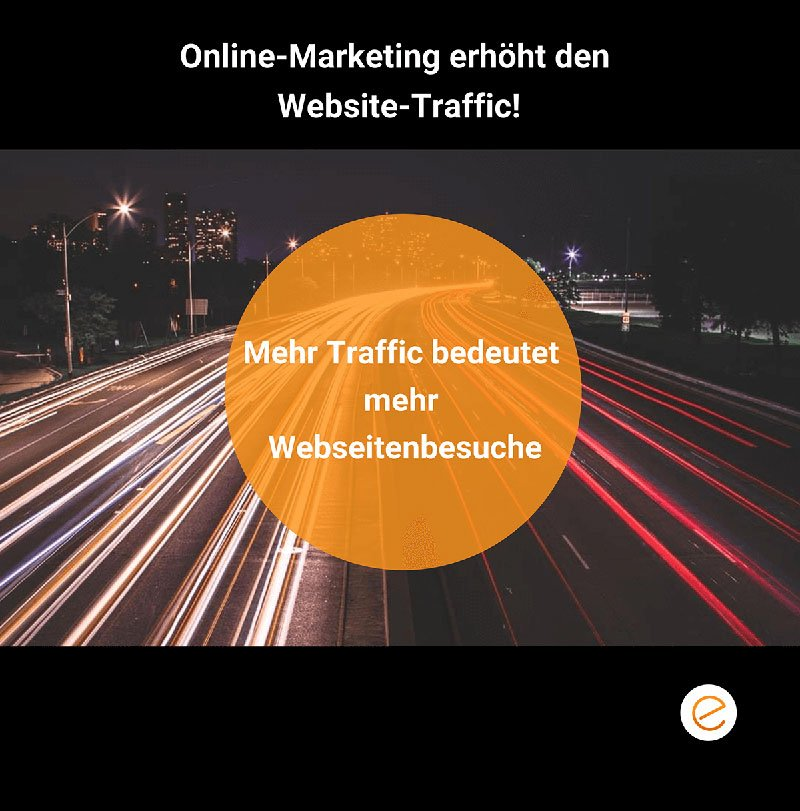 Website Marketing erhöht Traffic