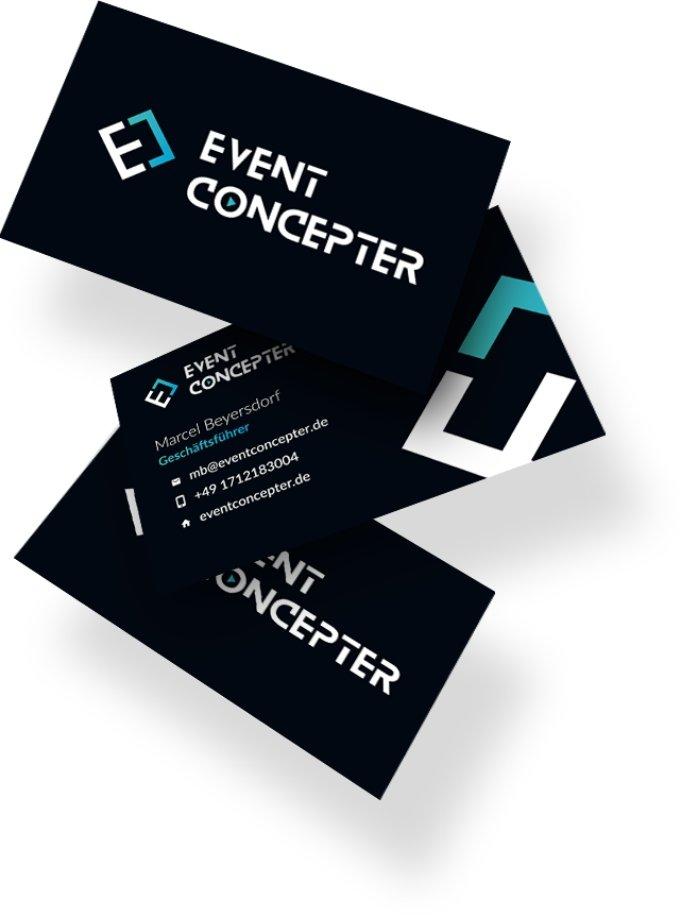 Visitenkarten EventConcepter